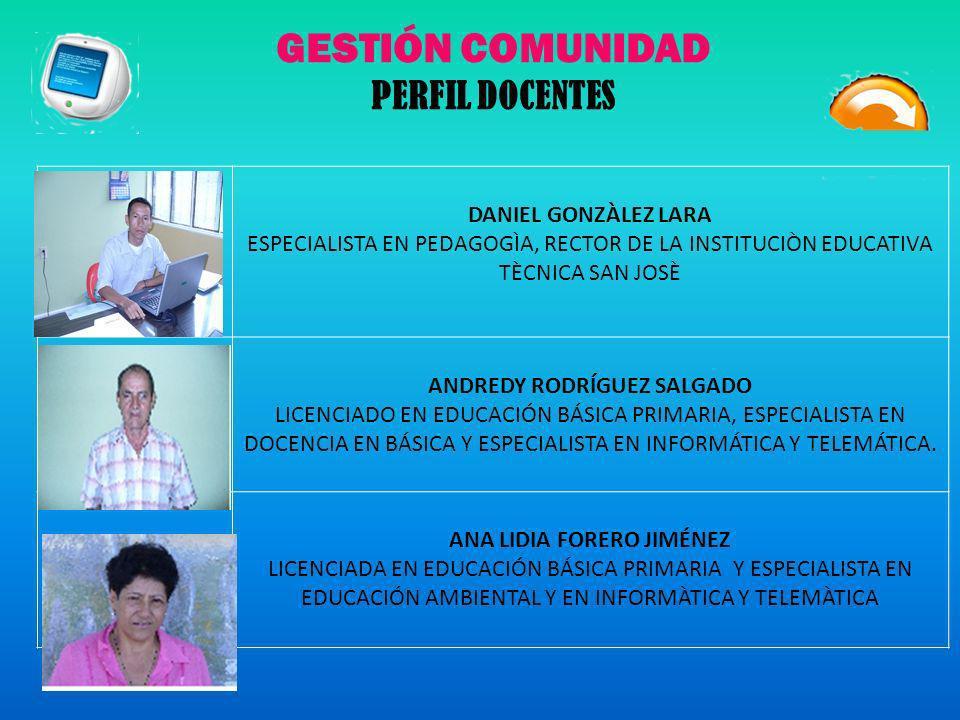 ANDREDY RODRÍGUEZ SALGADO ANA LIDIA FORERO JIMÉNEZ