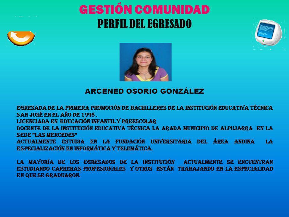 ARCENED OSORIO GONZÁLEZ