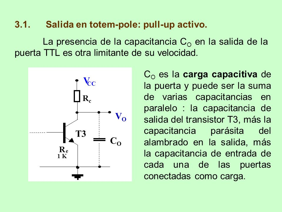 3.1. Salida en totem-pole: pull-up activo.