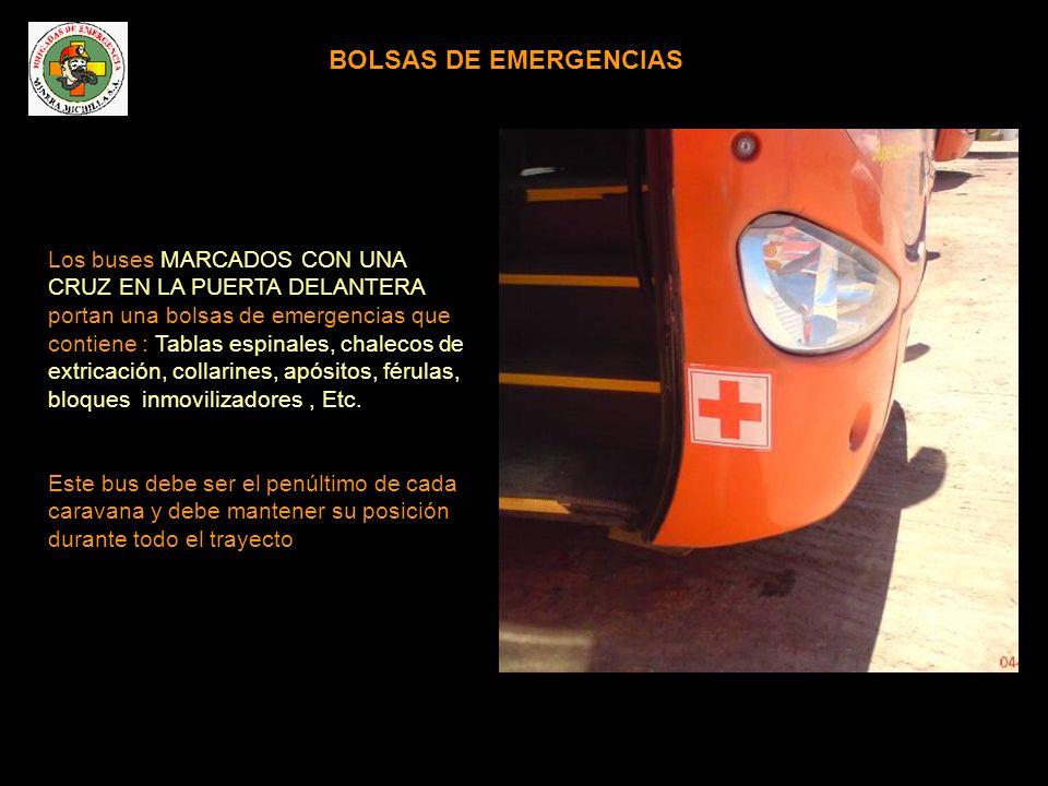 BOLSAS DE EMERGENCIAS