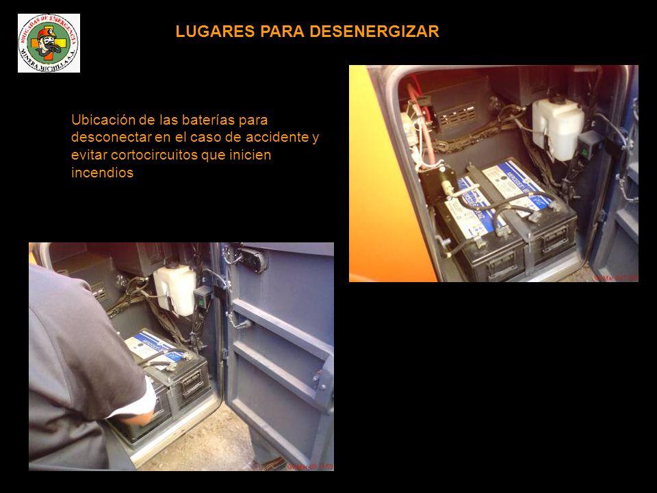 LUGARES PARA DESENERGIZAR