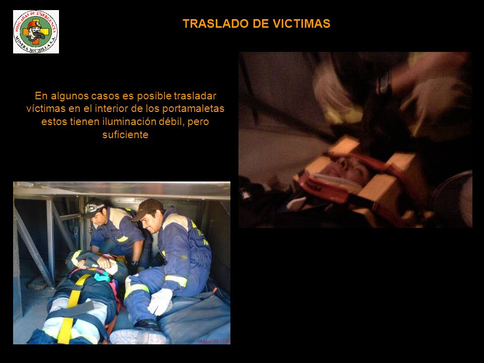 TRASLADO DE VICTIMAS