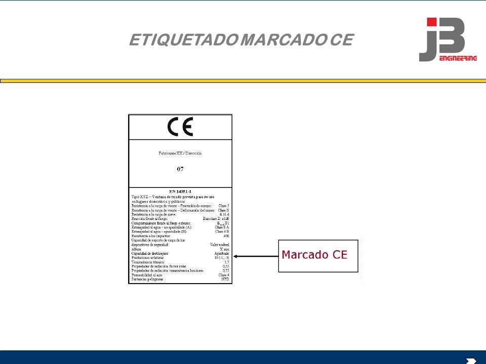 ETIQUETADO MARCADO CE