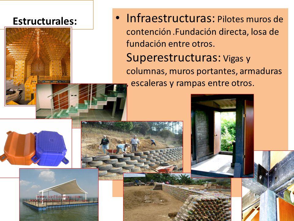Estructurales: