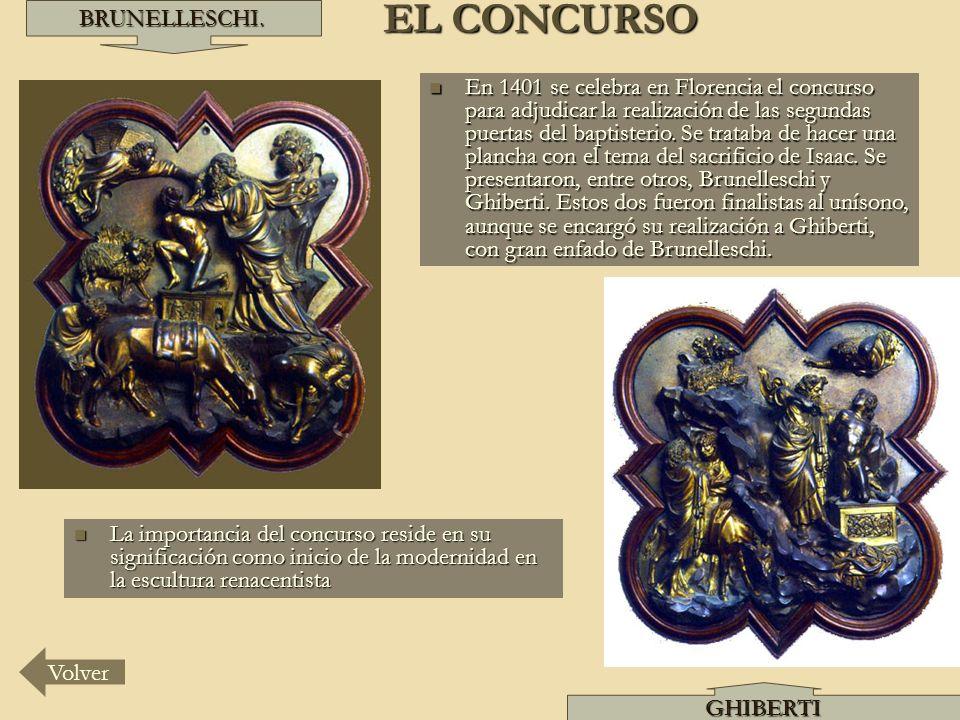 EL CONCURSO BRUNELLESCHI.