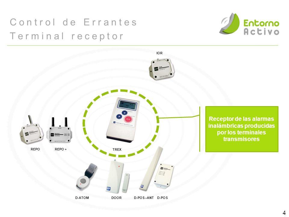 Control de Errantes Terminal receptor