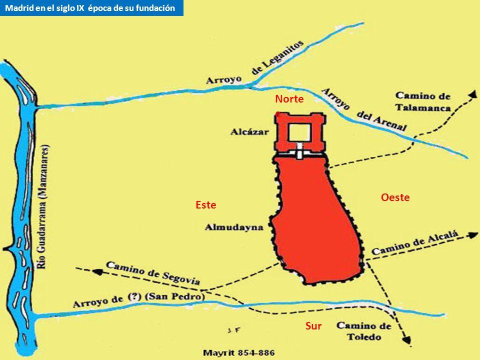 Madrid en el siglo IX época de su fundación