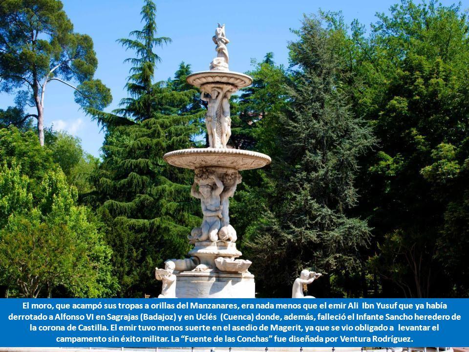 El moro, que acampó sus tropas a orillas del Manzanares, era nada menos que el emir Ali Ibn Yusuf que ya había derrotado a Alfonso VI en Sagrajas (Badajoz) y en Uclés (Cuenca) donde, además, falleció el Infante Sancho heredero de la corona de Castilla.