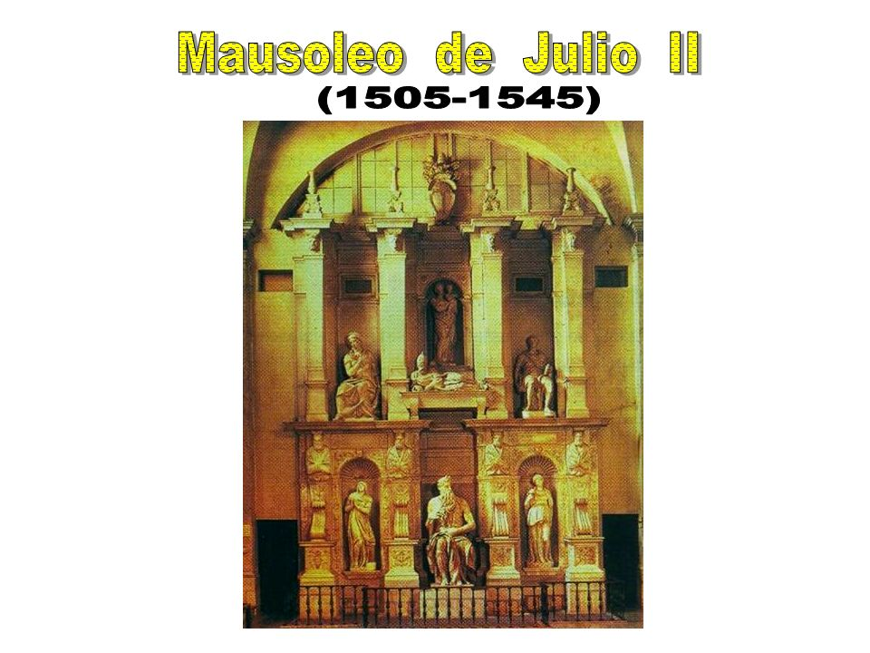 Mausoleo de Julio II (1505-1545)