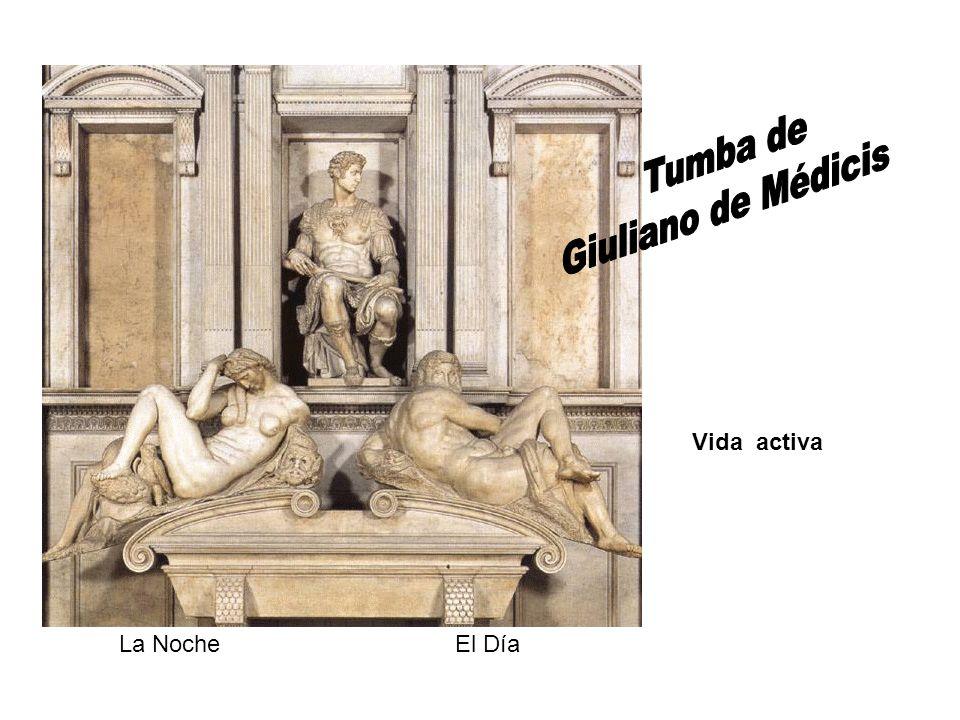 Tumba de Giuliano de Médicis Vida activa La Noche El Día