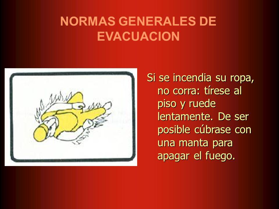 NORMAS GENERALES DE EVACUACION