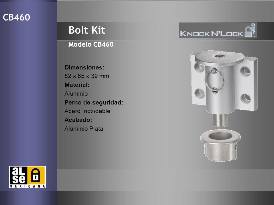 Bolt Kit CB460 Modelo CB460 Dimensiones: 82 x 65 x 39 mm Material: