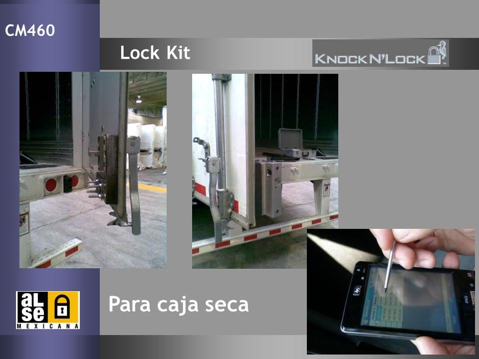 CM460 Lock Kit Para caja seca 19