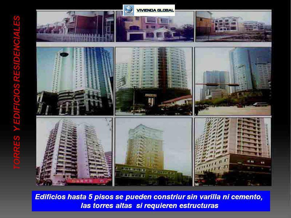 Edificios hasta 5 pisos se pueden constriur sin varilla ni cemento,