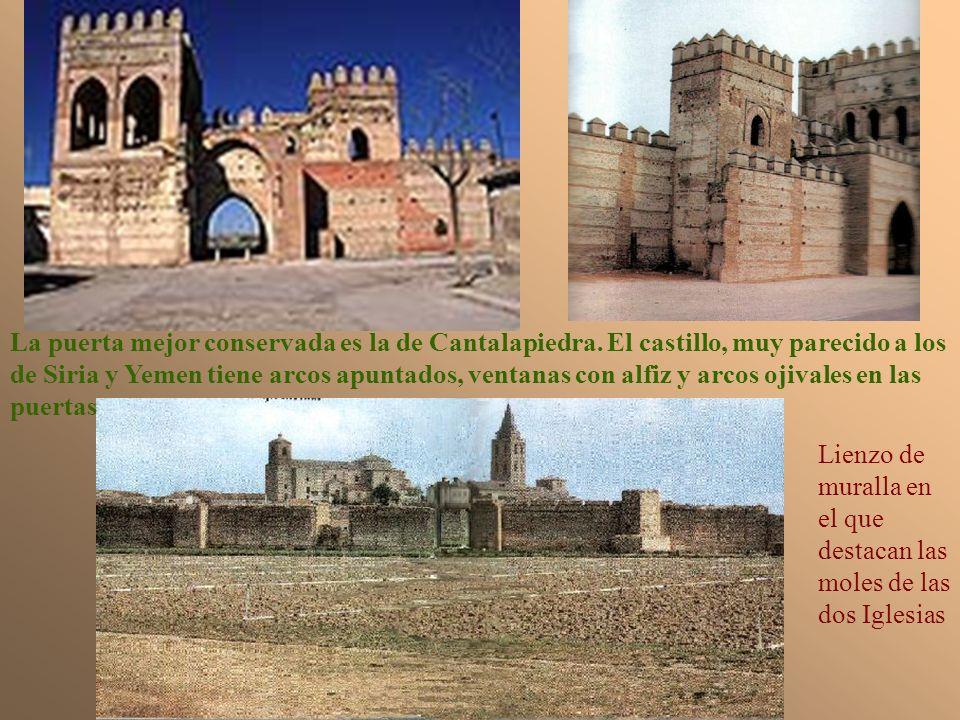 La puerta mejor conservada es la de Cantalapiedra
