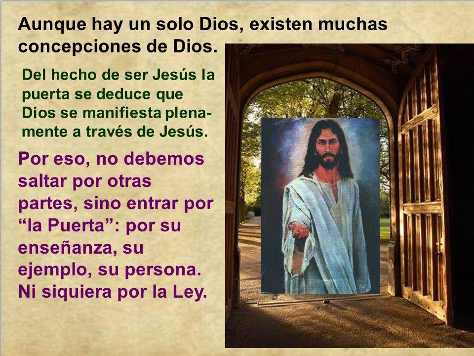 Aunque hay un solo Dios, existen muchas concepciones de Dios.