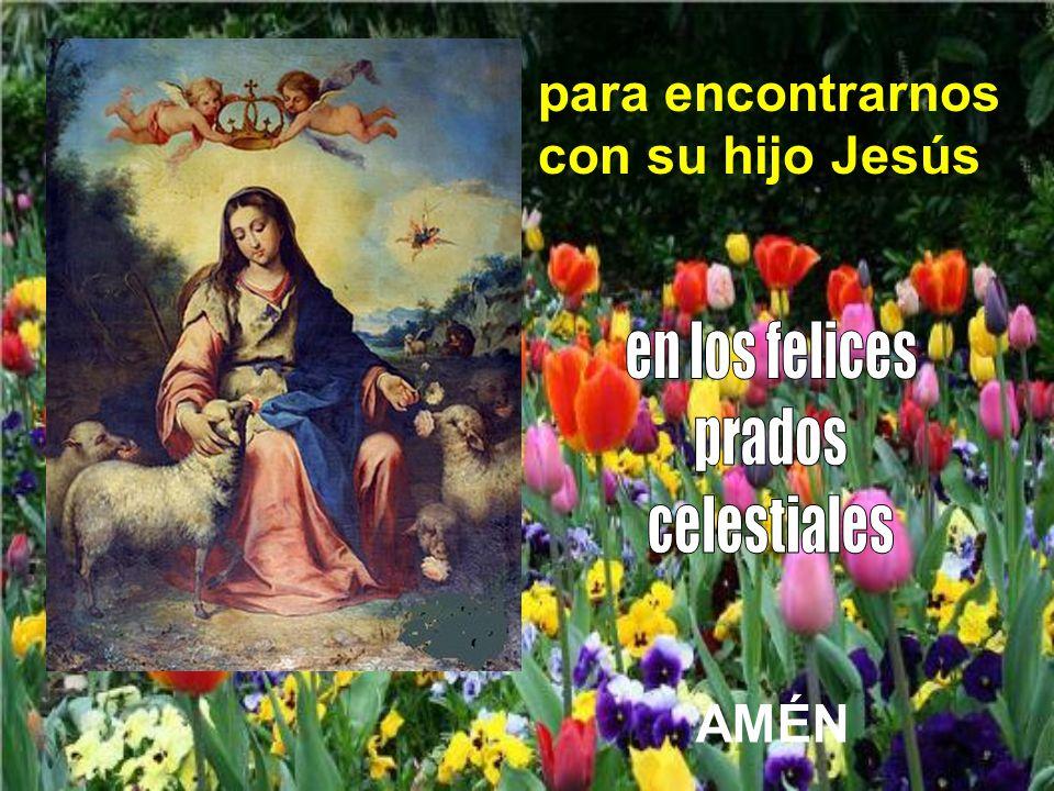para encontrarnos con su hijo Jesús