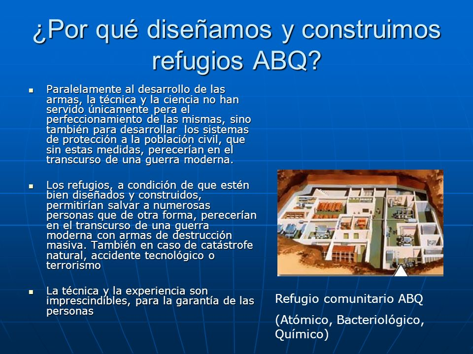 ¿Por qué diseñamos y construimos refugios ABQ