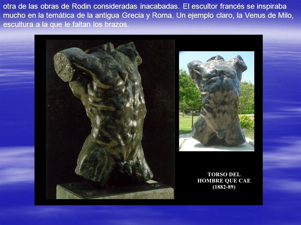 otra de las obras de Rodin consideradas inacabadas