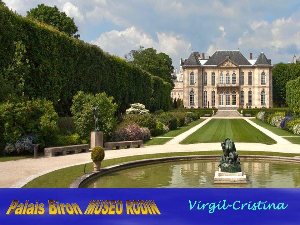 Virgil-Cristina Palais Biron MUSEO RODIN