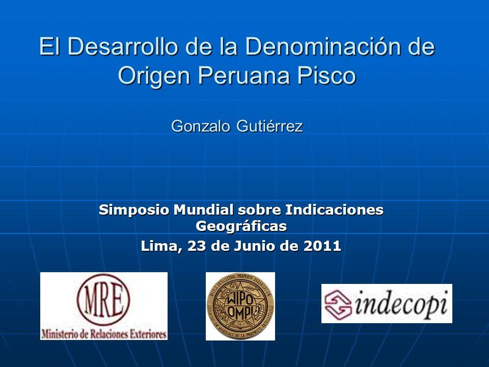 Simposio Mundial sobre Indicaciones Geográficas
