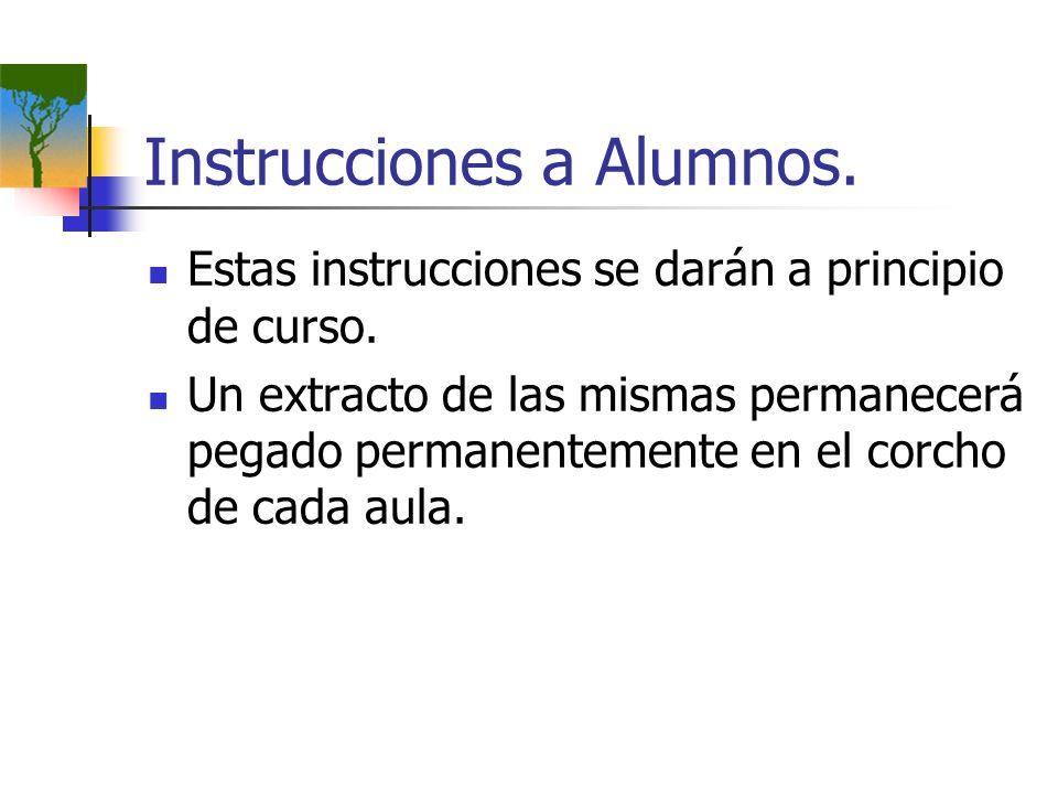 Instrucciones a Alumnos.