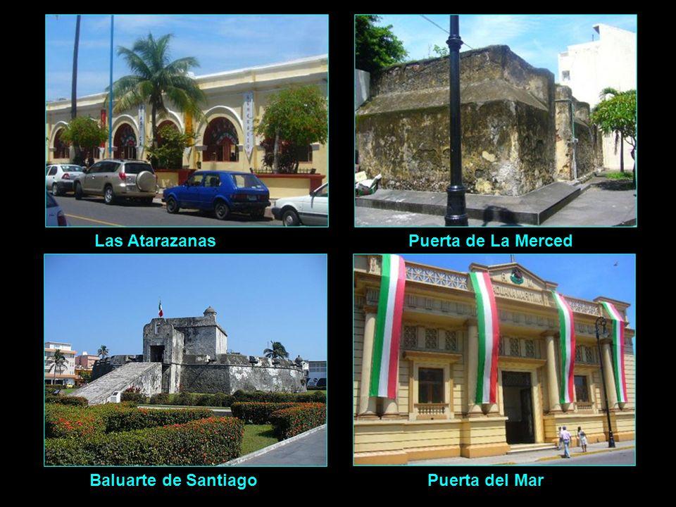 Las Atarazanas Puerta de La Merced Baluarte de Santiago Puerta del Mar