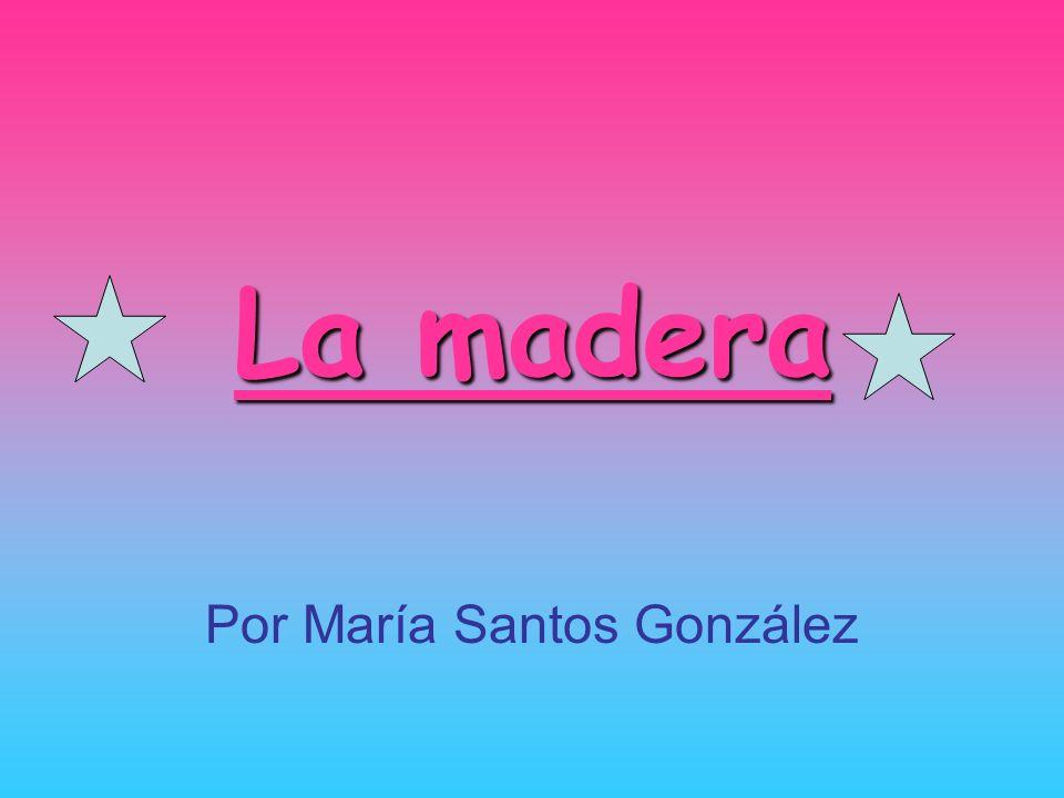 Por María Santos González