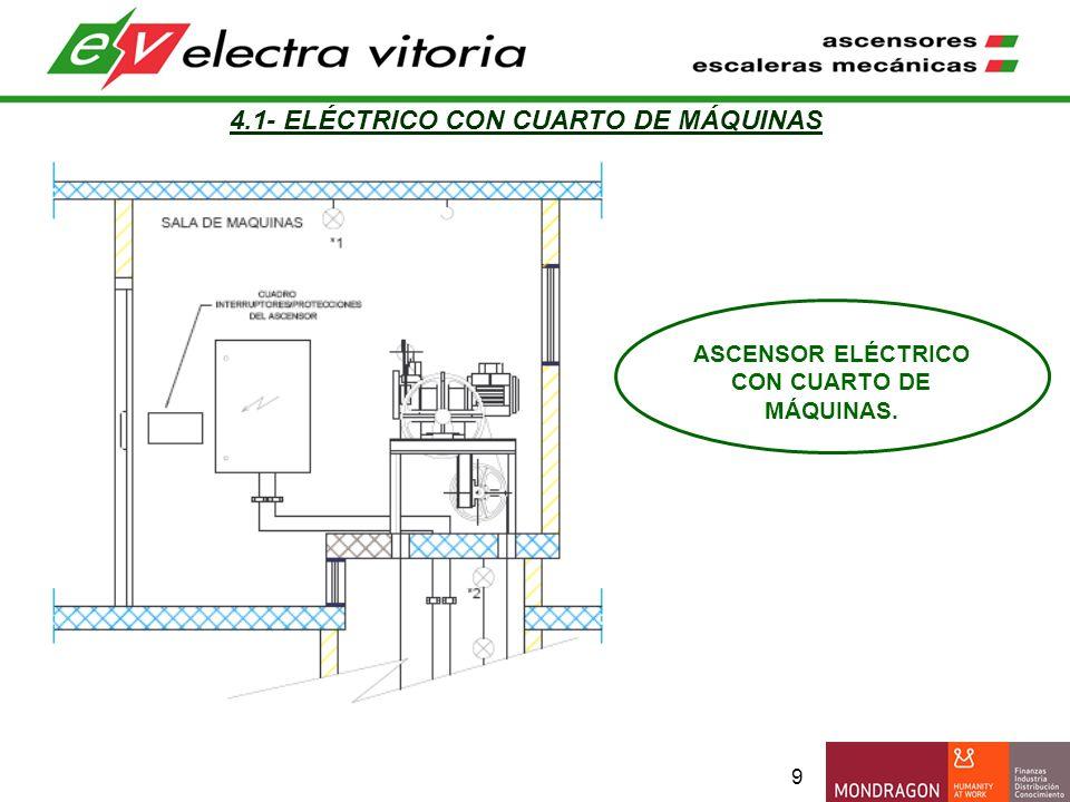4.1- ELÉCTRICO CON CUARTO DE MÁQUINAS