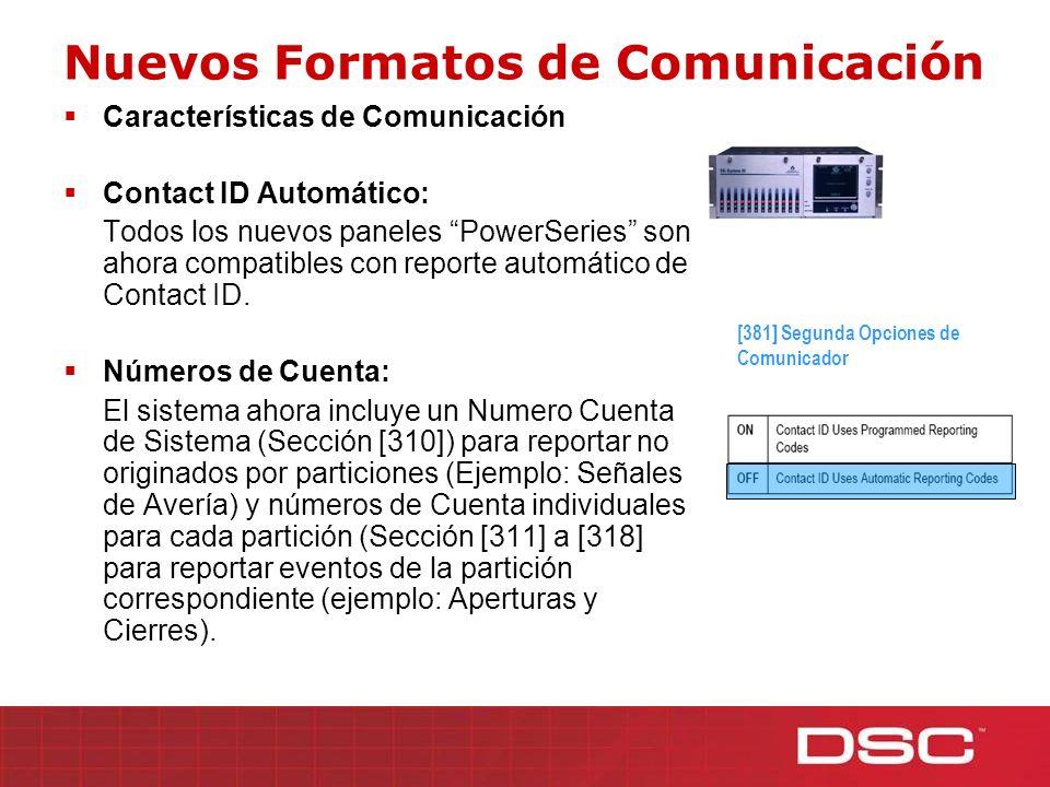 Nuevos Formatos de Comunicación