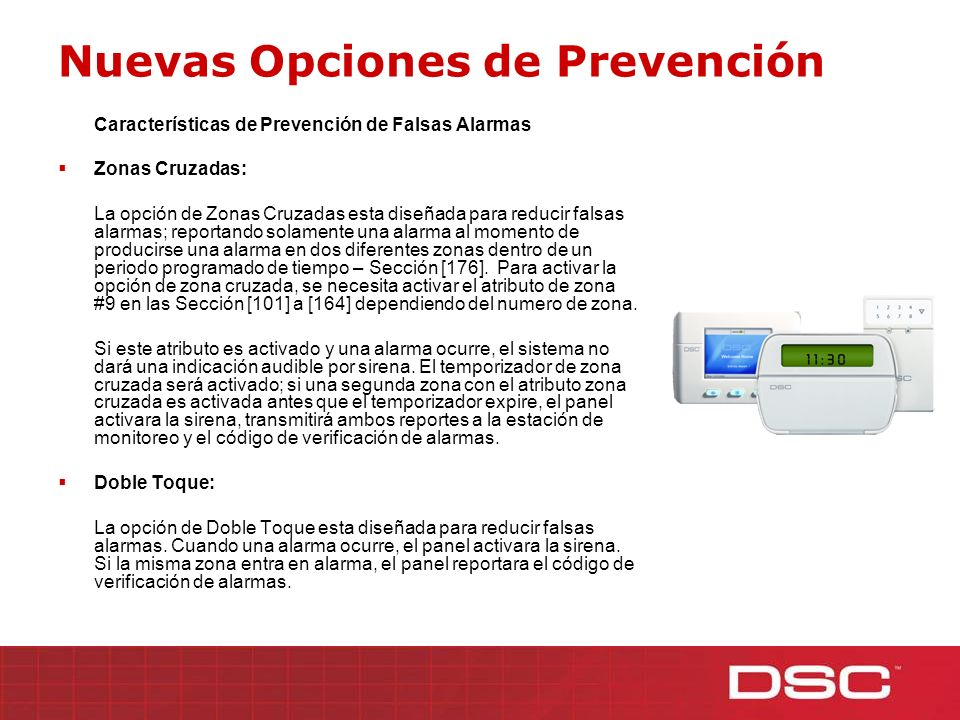 Nuevas Opciones de Prevención