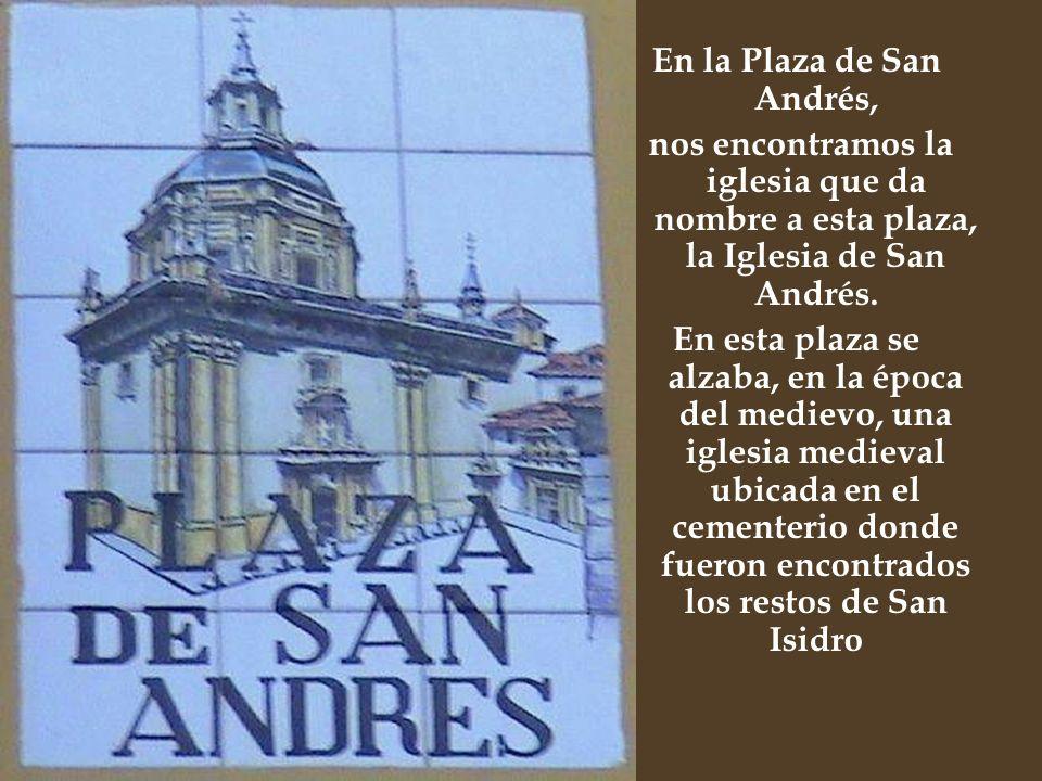 En la Plaza de San Andrés,