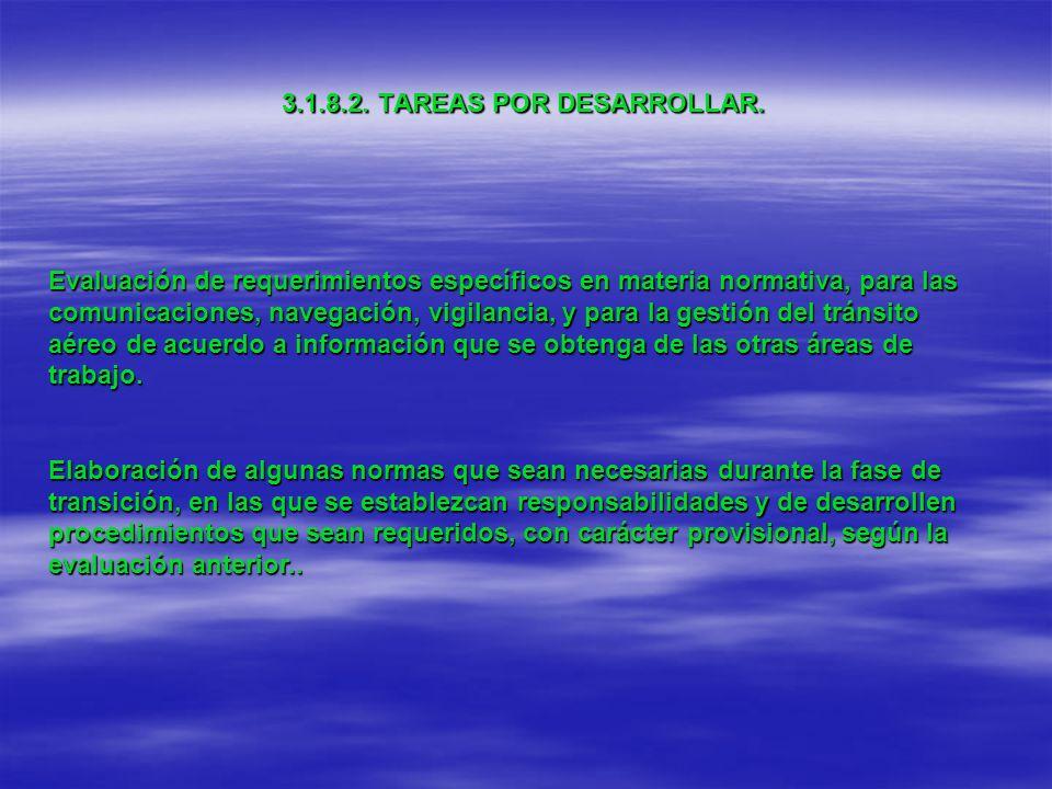 3.1.8.2. TAREAS POR DESARROLLAR.