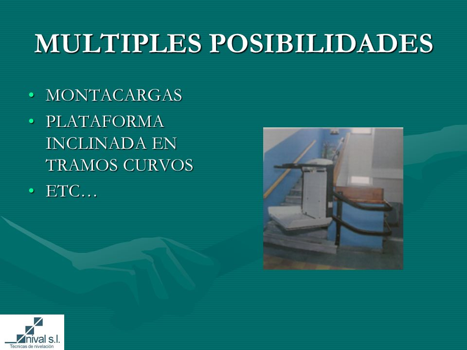 MULTIPLES POSIBILIDADES