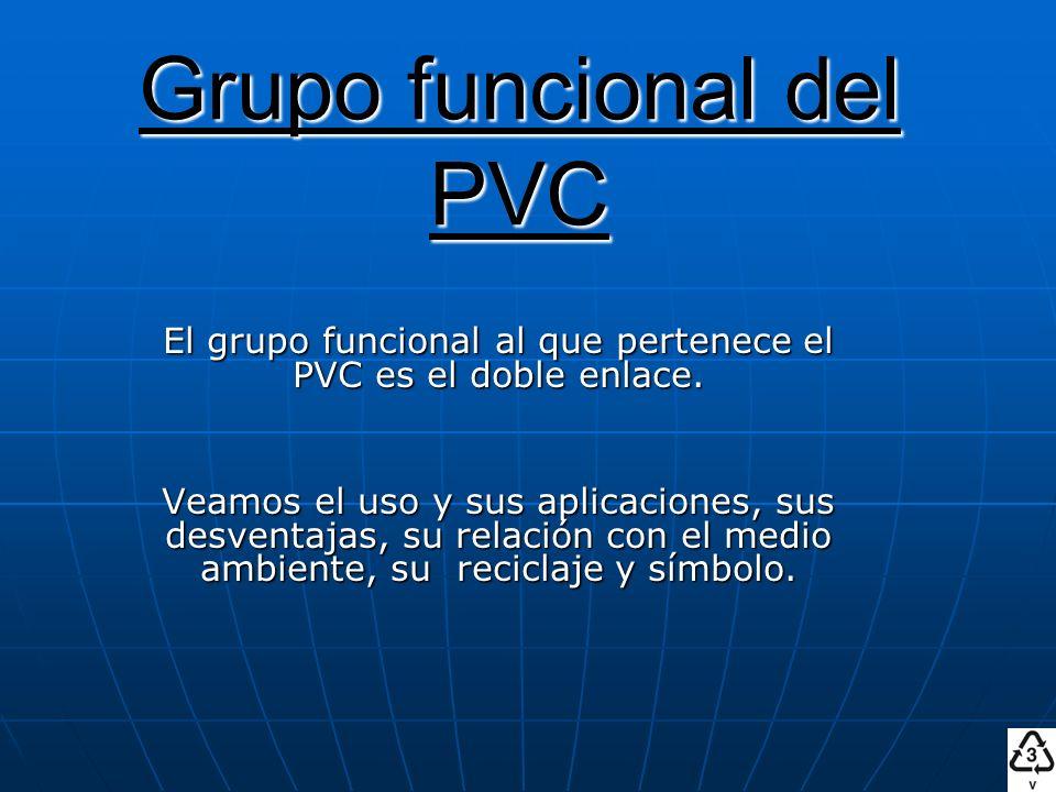 Grupo funcional del PVC