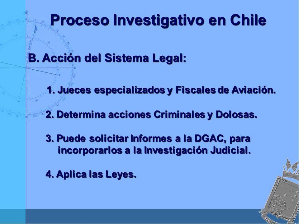 1. Jueces especializados y Fiscales de Aviación.
