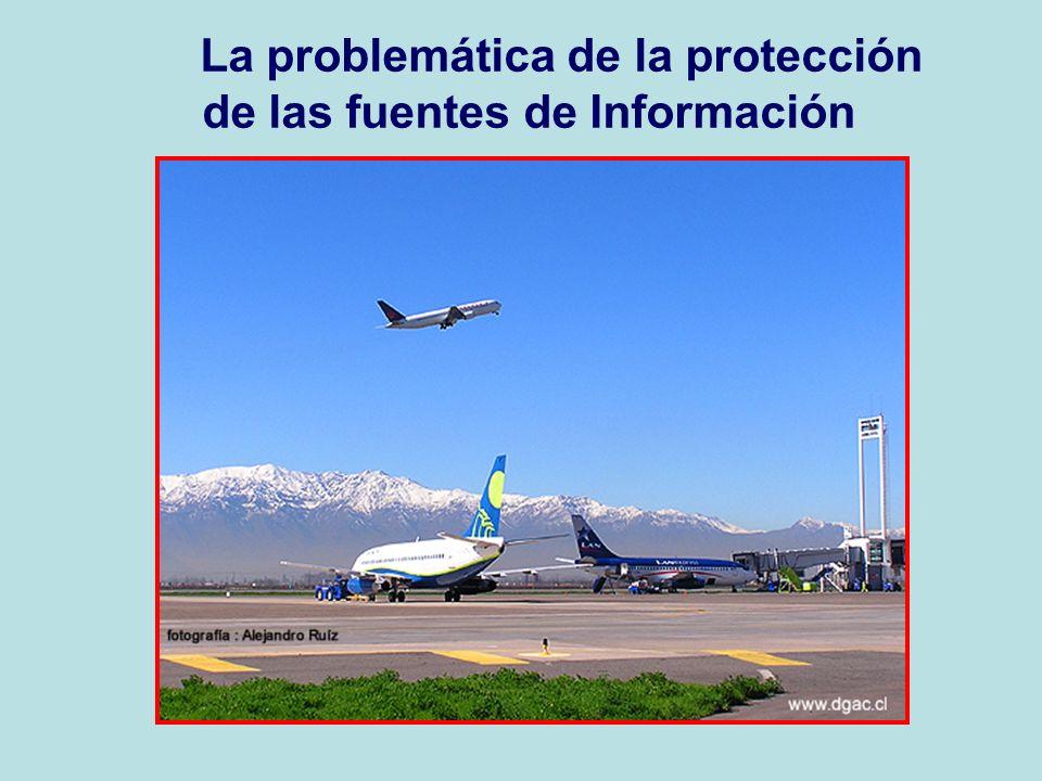 La problemática de la protección de las fuentes de Información