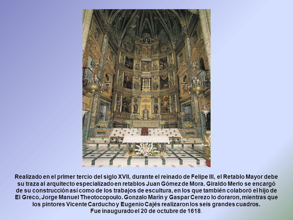 Fue inaugurado el 20 de octubre de 1618.