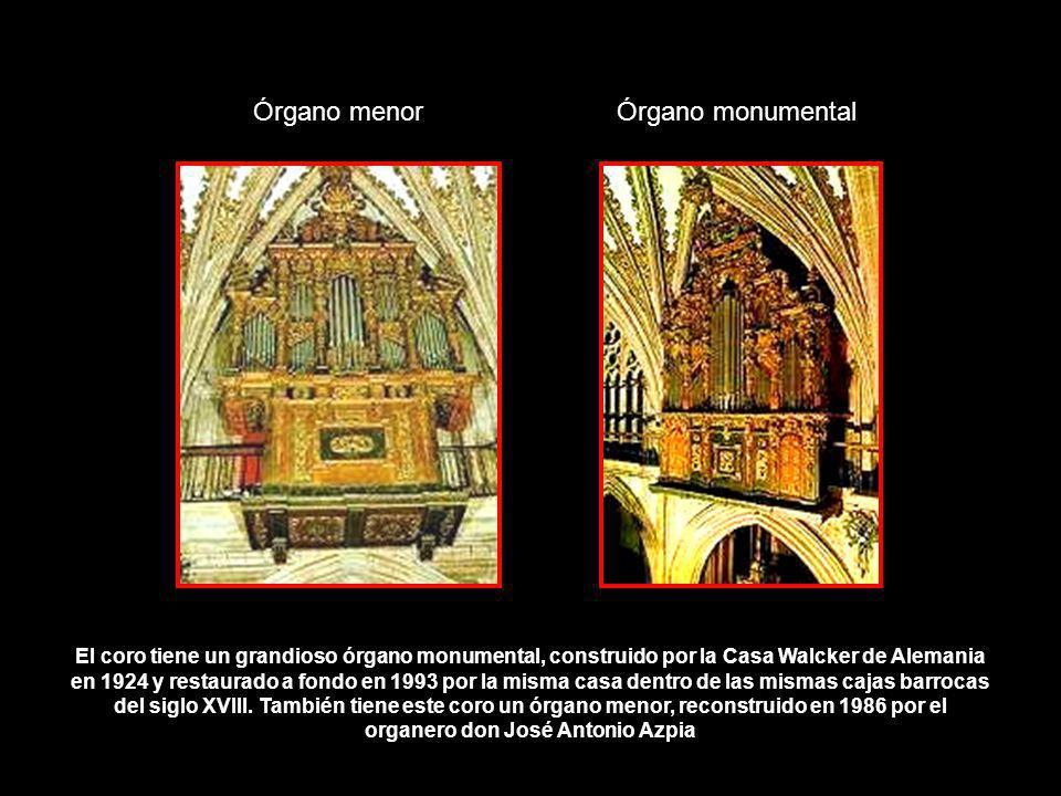Órgano menor Órgano monumental