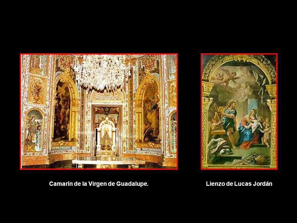 Camarín de la Virgen de Guadalupe.