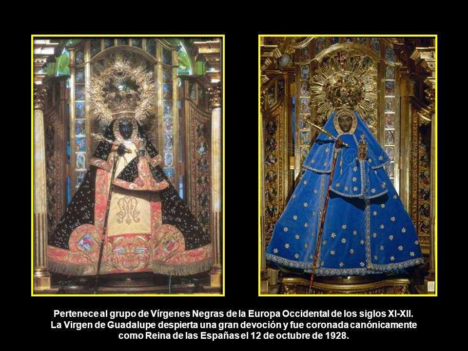 Pertenece al grupo de Vírgenes Negras de la Europa Occidental de los siglos XI-XII.