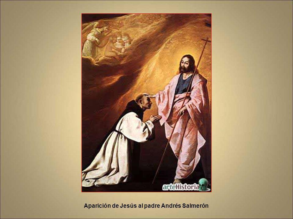 Aparición de Jesús al padre Andrés Salmerón