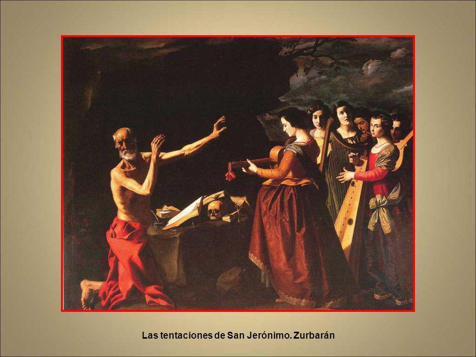 Las tentaciones de San Jerónimo. Zurbarán