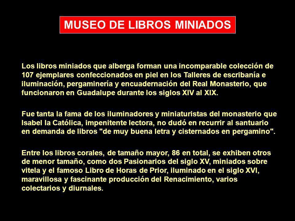 MUSEO DE LIBROS MINIADOS