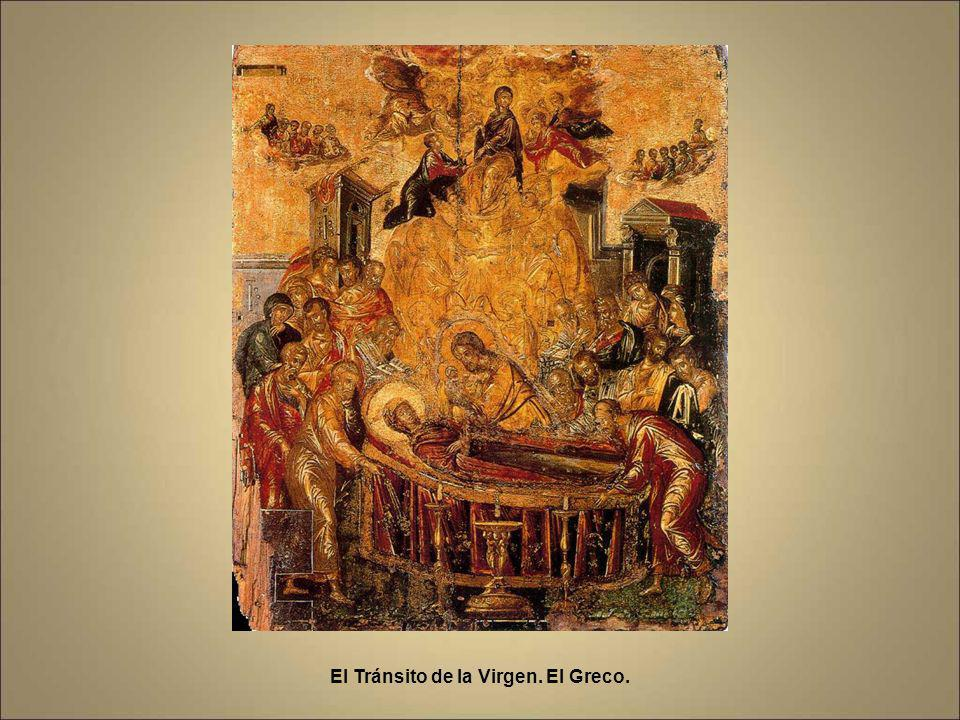El Tránsito de la Virgen. El Greco.
