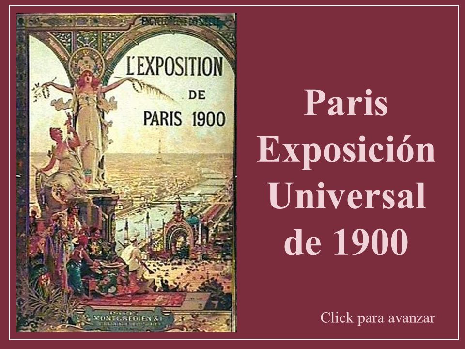 Paris Exposición Universal de 1900