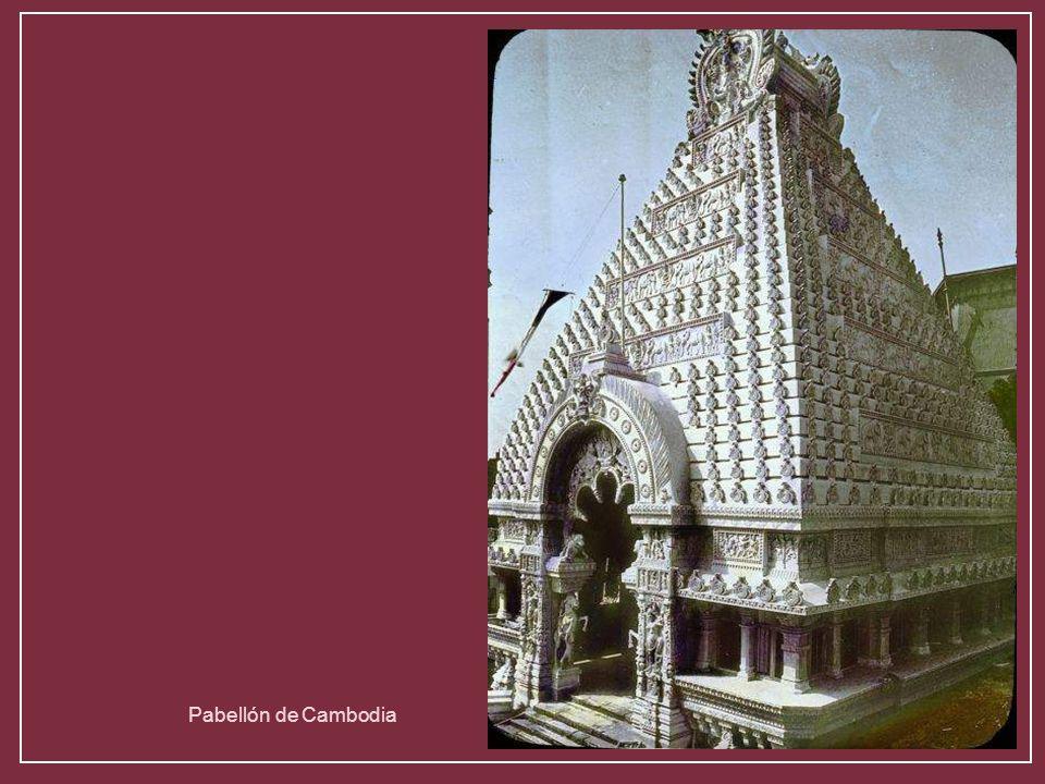 Pabellón de Cambodia