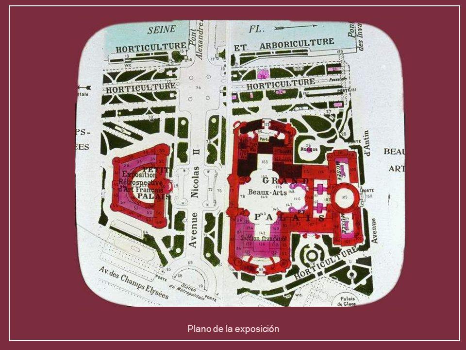 Plano de la exposición