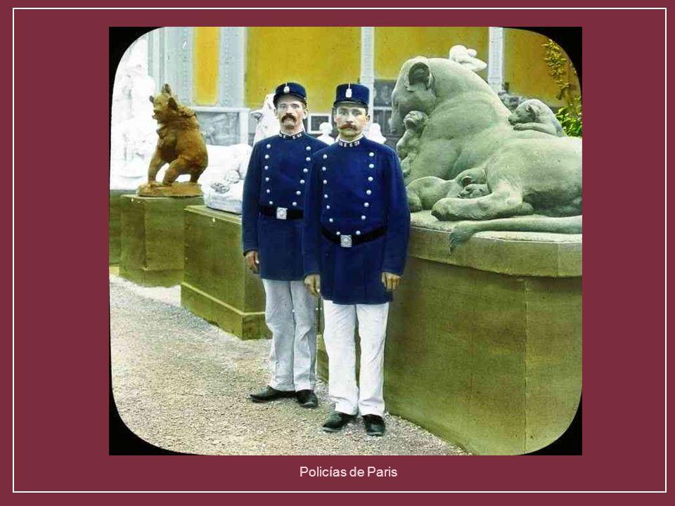 Policías de Paris