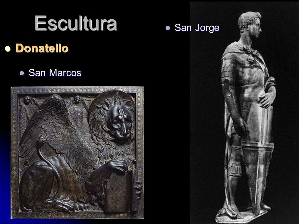 Escultura San Jorge Donatello San Marcos